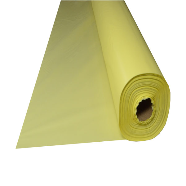 Yellow Plastic Table Cover Roll 40 Quot X 300 Maskas